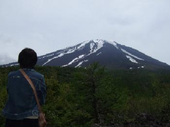 6/14 奥庭自然公園からの富士山