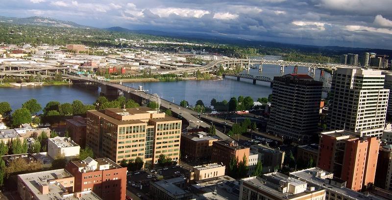 ■ Portland City Grill 米国・ポートランド