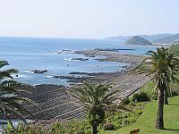 ↑日南海岸