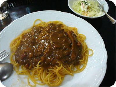 カレースパゲッティー