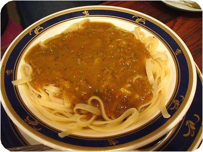 カレースパゲティ