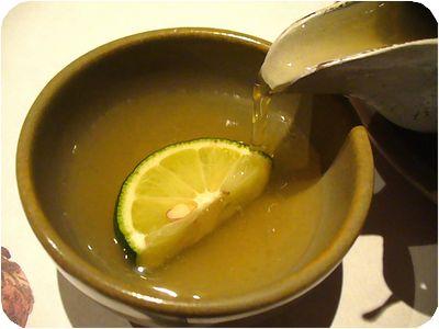 松茸と福久の土瓶蒸し