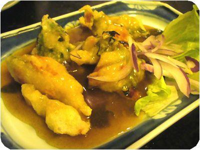 豆腐の唐揚げ(カレーソース)