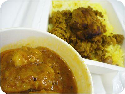 500円Curry弁当