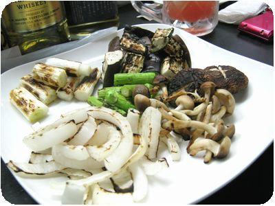 野菜素焼き
