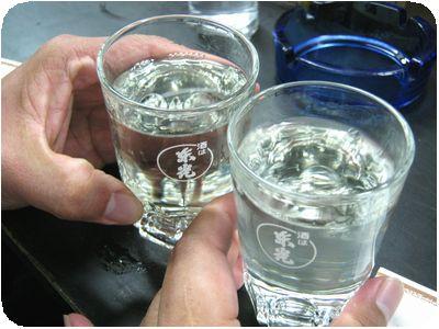 乾杯(ひやおろし)
