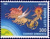 太陽神ヘリオスと日輪の馬車