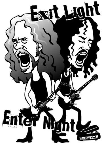 Metallica James Hetfield Kirk Hammett