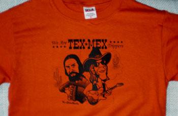 Tex-Mex Tシャツ texas orange