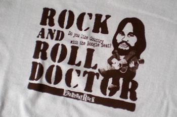 ロックTシャツ Rock And Roll Doctor Lowell George