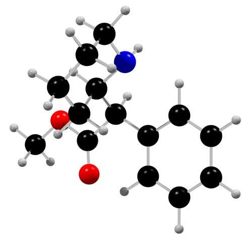 リタリン分子模型