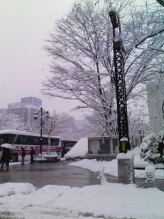 久々にイ雪景色
