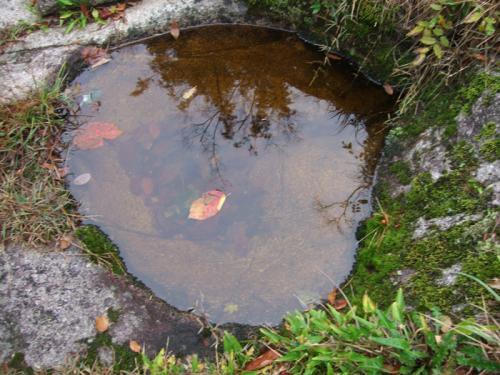 奥津渓谷の甌穴
