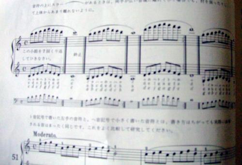 オクターブの練習