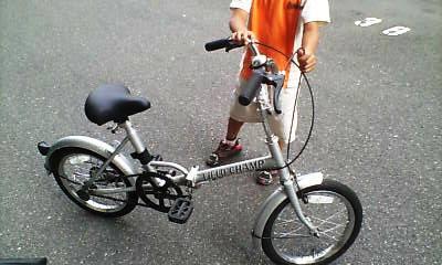 はるき7歳の誕生日5-自転車