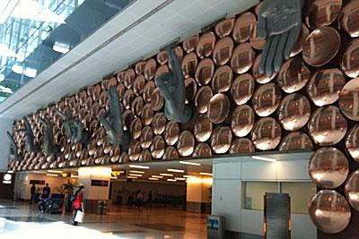 インディラガンジー空港
