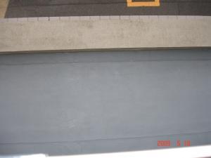 防水トップコート塗装