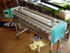 新しい自動壁紙糊付機