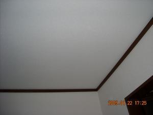 天井の壁紙(クロス)も張替えました