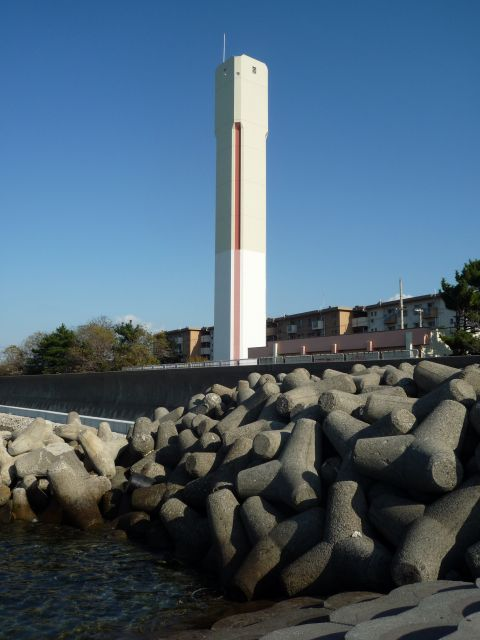 泉南尾崎団地の給水塔