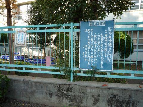 大阪府営東鳥取石田住宅・キラキラ通り1