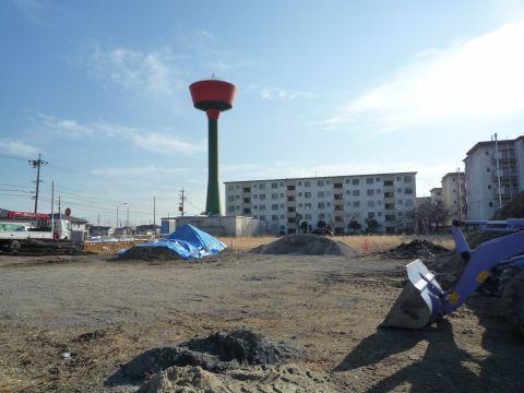 名古屋市営戸田荘の給水塔2