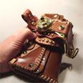 ハンドメイドごつい財布