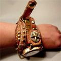 ハンドメイド腕時計キャット