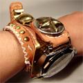 ハンドメイド腕時計BOXER