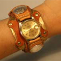 ハンドメイド腕時計オーバル・エレガンス