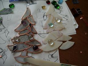 o-raso-ma~クリスマスツリー制作中