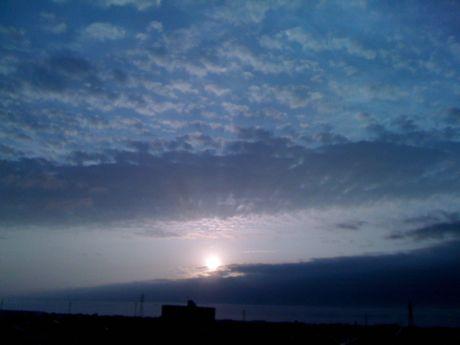 20090830夕陽