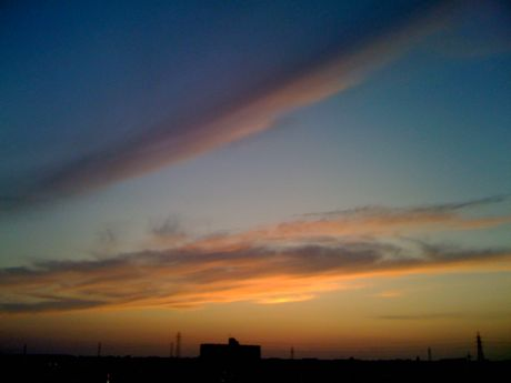 20090905夕焼け