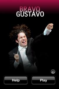 BRAVO GUSTAVO トップ画面