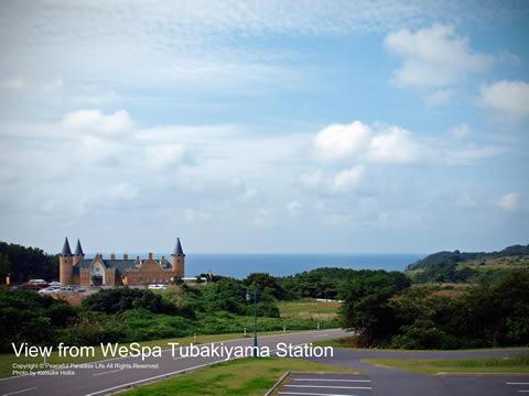 ウェスパ椿山駅からの眺め