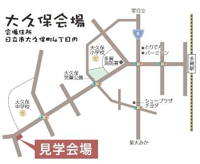 鈴木 勝則様邸地図