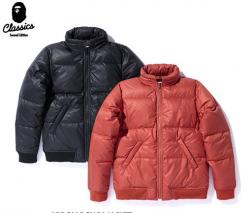 BAPE NYLON DOWN JACKET