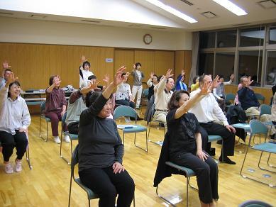 田上いきいき健康教室を開講