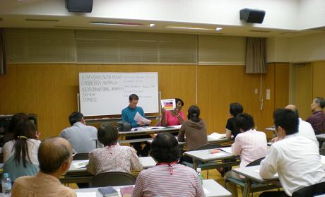 留学生と英会話教室