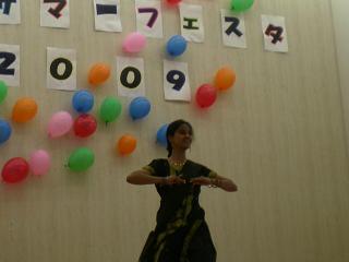 マドウラーさんのインド舞踊