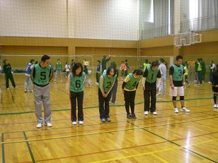 健闘するBチーム