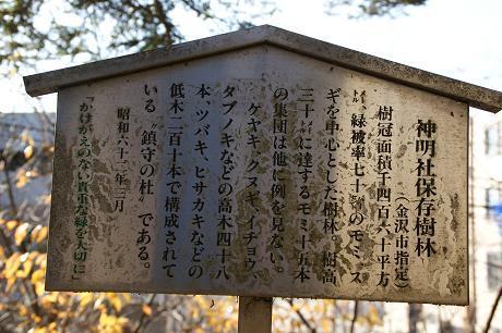 神明社保存樹林