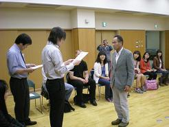 金沢大学から里親に感謝状が