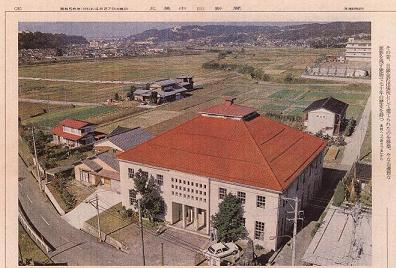 昭和56年当時の公民館があった旧市浅川出張所