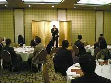 上田章金沢市議会議長からも町づくりの抱負が・・・