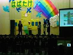 田上の道しるべ物語では、亀田・館長の役も演じて頂きました。