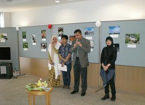 総領事館代表も参加した文化祭