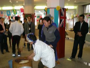 国際交流・留学生交流会館の会館祭