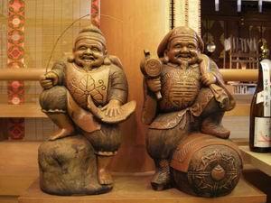 宮城県仙台「大国神社」大黒天様と恵比寿様
